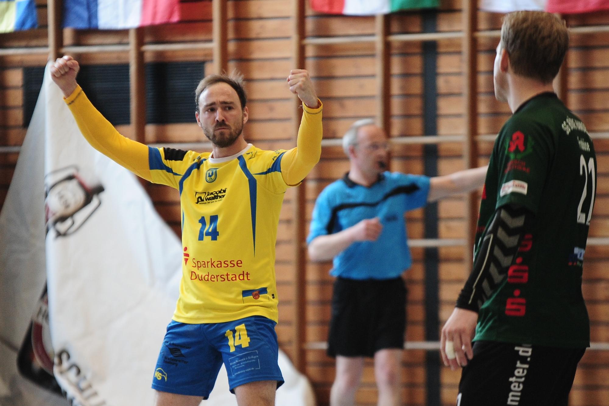 Marcel Effenberger, Kapitän des TV Jahn Duderstadt