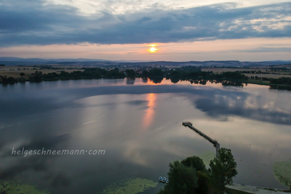 Sonnenaufgang über dem Seeburger See