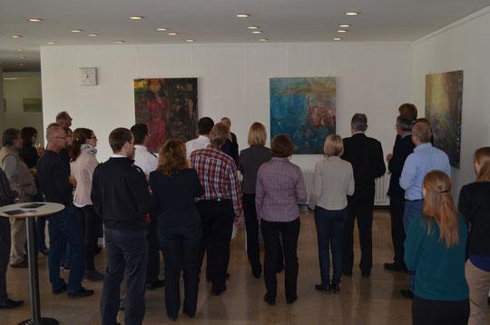 Innenminister Boris Pistorius gratuliert begeistert zur beeindruckenden Ausstellung.