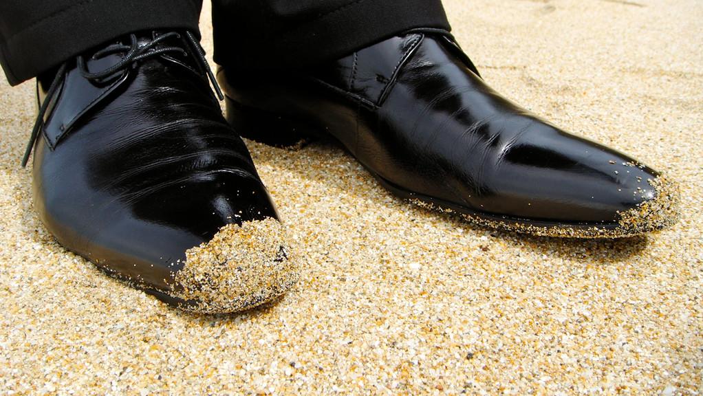 shoes of Heinz D. Heisl