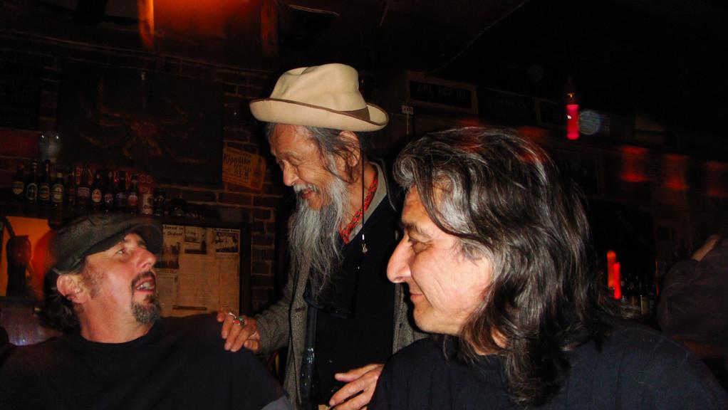 Jeff, Ali Mongo & George Long