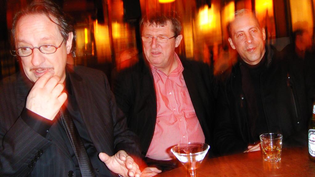 Heinz D. Heisl, Elias Schneitter, Jimmy Flynn