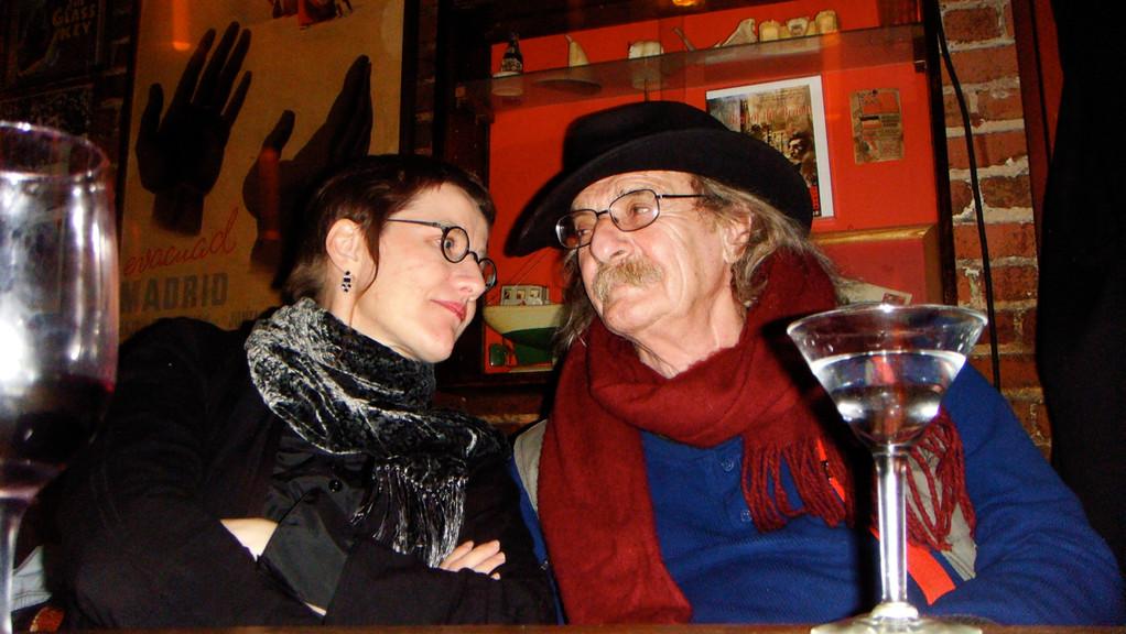 Magdalena Kauz and Jack Hirschmann