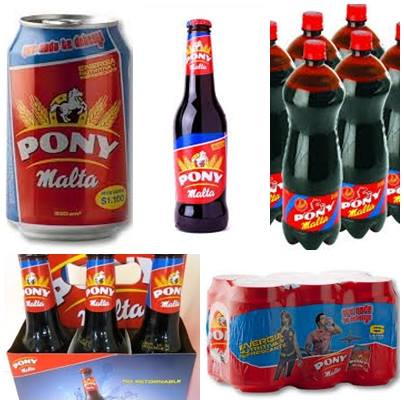 PONYMALTA boisson COLOMBIE: 1 euro 40 HT