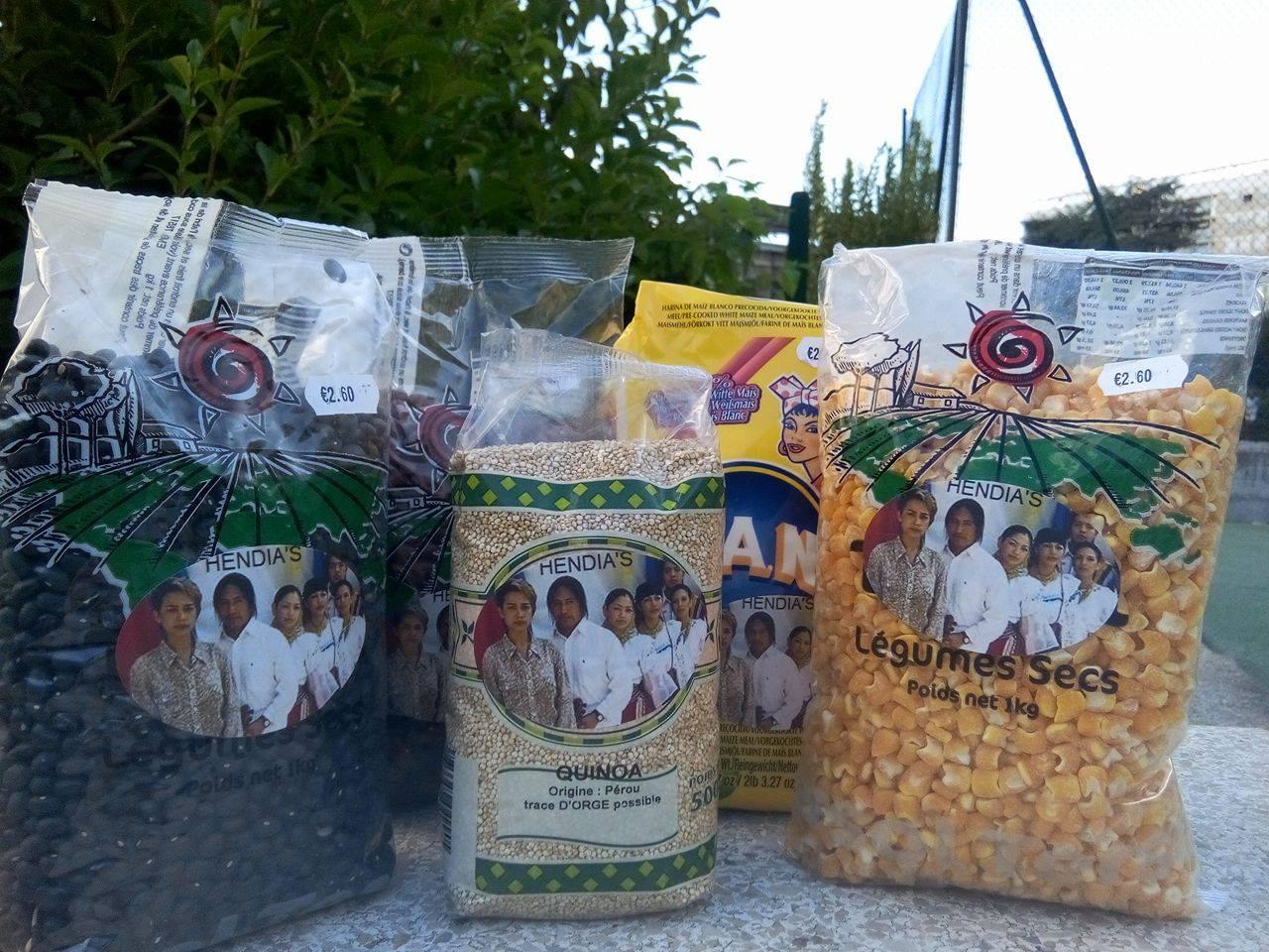 Nuestros granos secos a partir de: 1 euro 60 TTC