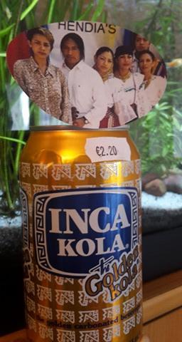 Inca Cola a: 2 euro 20 TTC