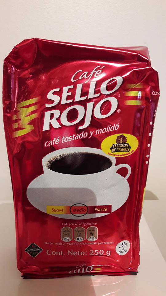 CAFE SELLO ROJO colombie: 4 euros 40 TTC