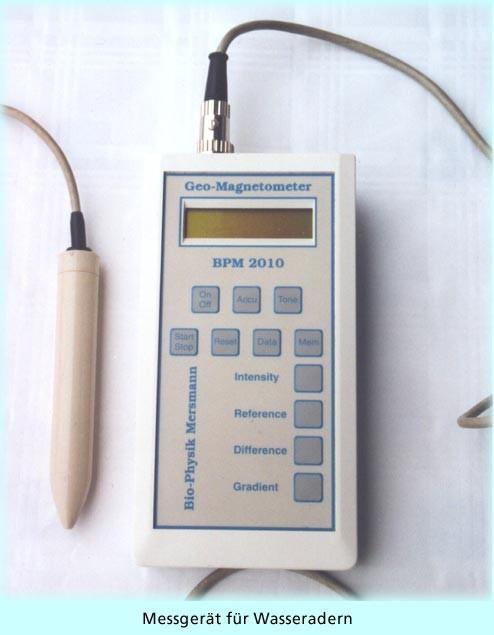 Etwas Neues genug Wasseradern und Elektrosmog werden mit elektronischen Messgeräten &ZY_49