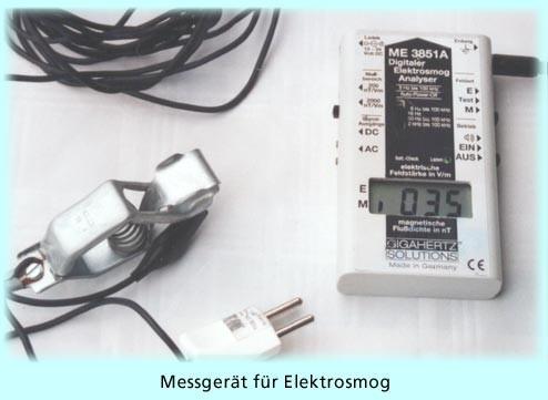 Beliebt Bevorzugt Wasseradern und Elektrosmog werden mit elektronischen Messgeräten &HA_04