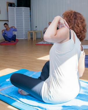 Foto les yoga oefening
