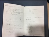 佐藤さんのノート