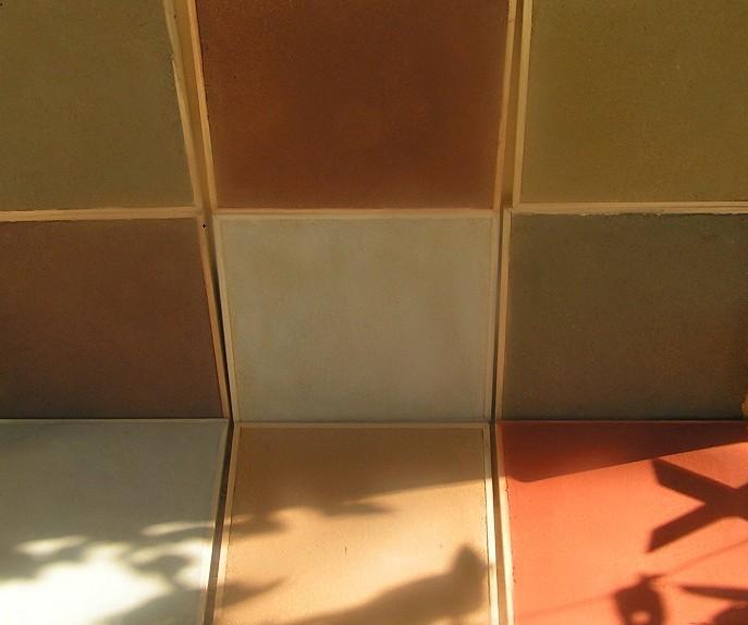 couleur enduit terre crue nuancier