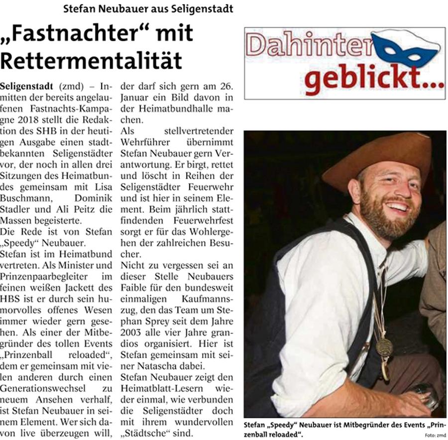 Dahinter geblickt bei Stefan Neubauer