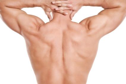 Haarentfernung am Rücken