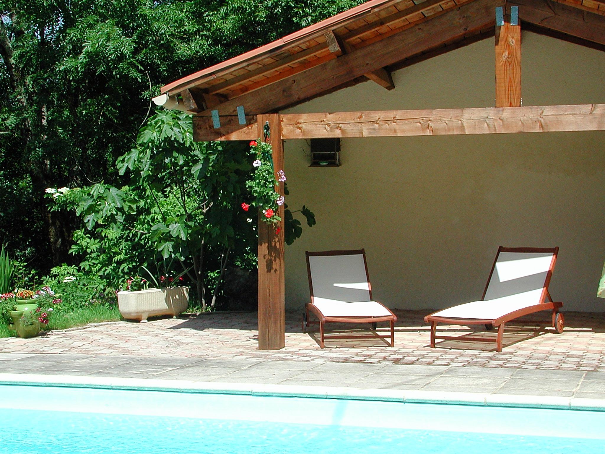 Le pool house