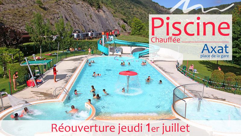 Pass sanitaire obligatoire pour la piscine d'Axat
