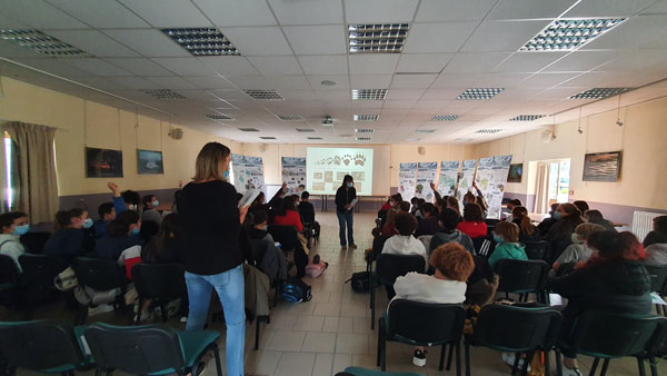 Natura2000 - Action de sensibilisation au collège