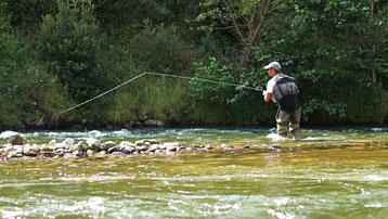 Pêche no-kill dans les Pyrénées Audoises