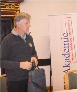 Josef Gary Fuchsbauer, ÖLI-UG Bundeskoordinator. Bild: PSt