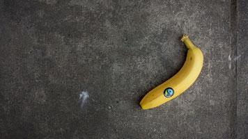 Fair-Trade-Banane. Bild von Isaac Fryxelius auf pixabay.com