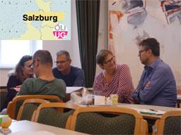 Bild: Tiefgehende Diskussionen beim ÖLI-UG-Seminar