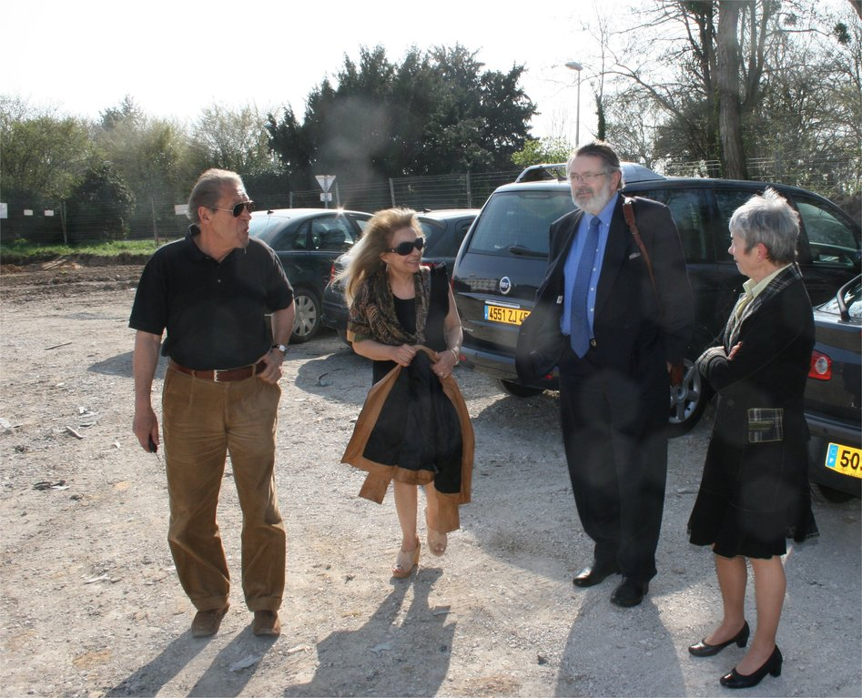 Armand (CA), Jacqueline(Présidente), Jean François (parlementaire honoraire), Danièle (vice présidente)