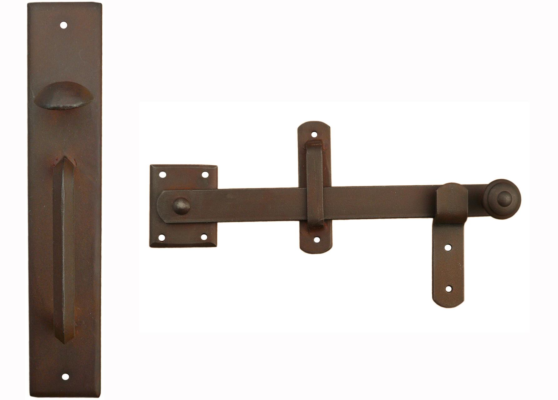 fallriegel t r riegel set antik beschl ge und schmiedeeisen beschl ge. Black Bedroom Furniture Sets. Home Design Ideas