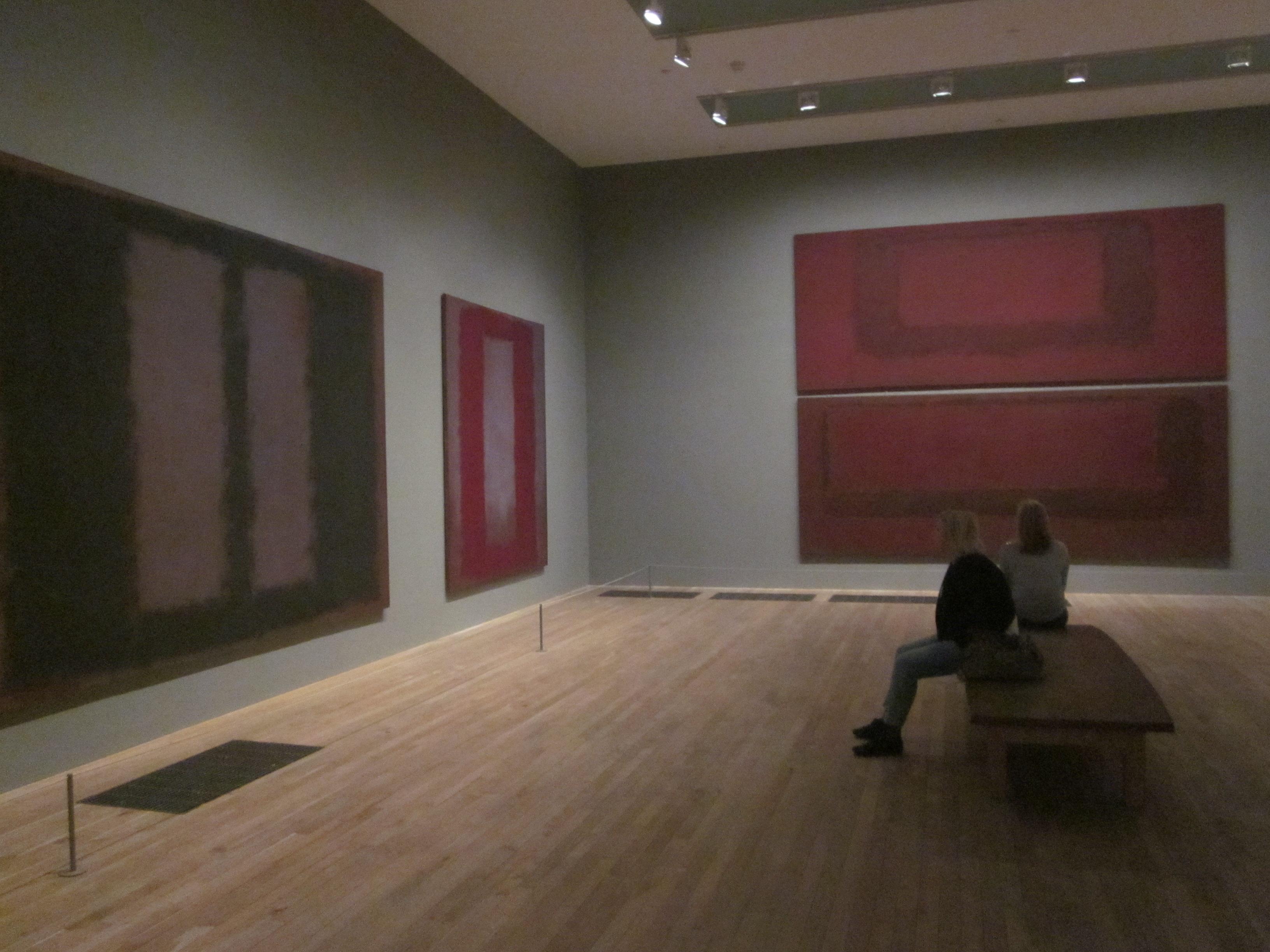 Ausstellungsraum tate modern