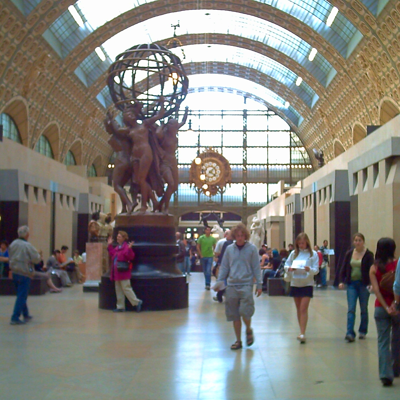 Musée d'Orsay Eingangshalle