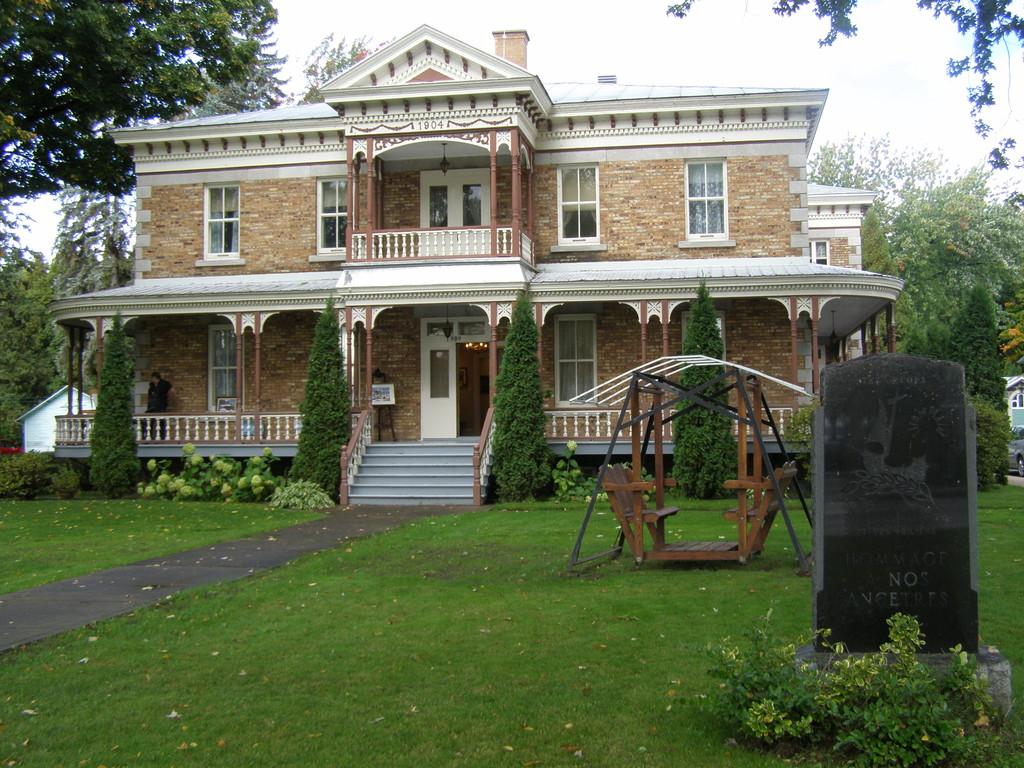 Presbytère de Champlain.