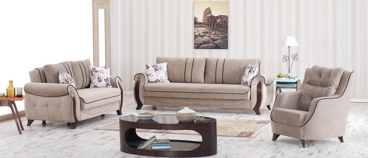 Nilay Moderne Sitzgruppe 3+2+B     € 1.569,-