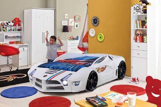 Kinderzimmer mit Autobett 1459€