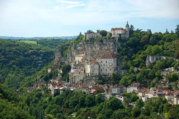 Rocamadour - Camping les trois sources 4 étoiles Lot Vallée de la Dordogne