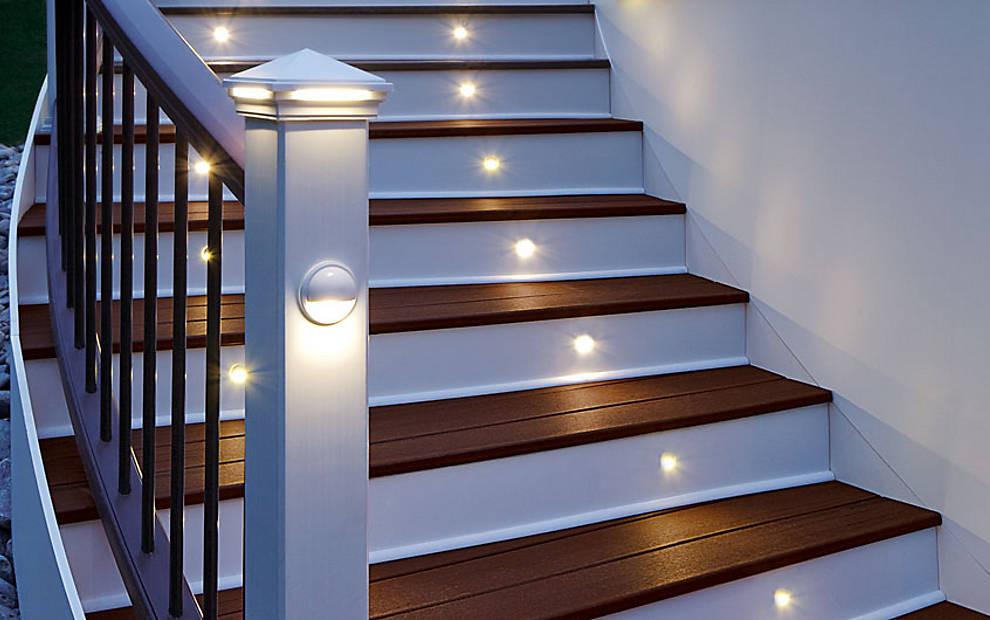 Escaleras barandas y pasamanos p gina web de ecoinnovacion - Luces para escalera ...