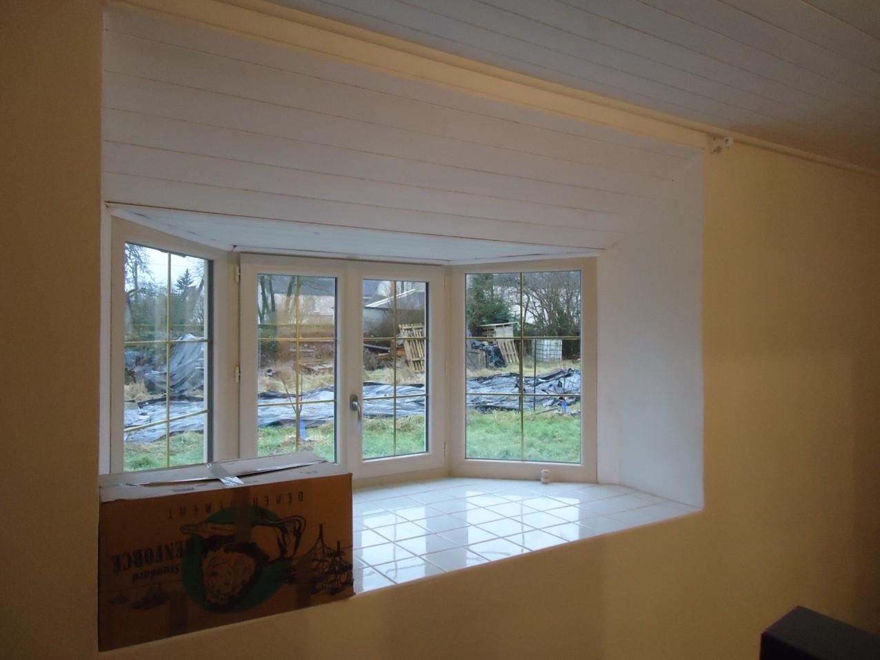 Bow window de la chambre principale