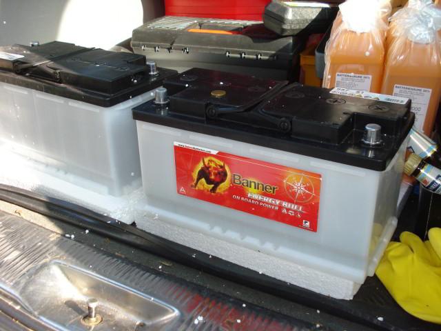 Aufbau Batterie