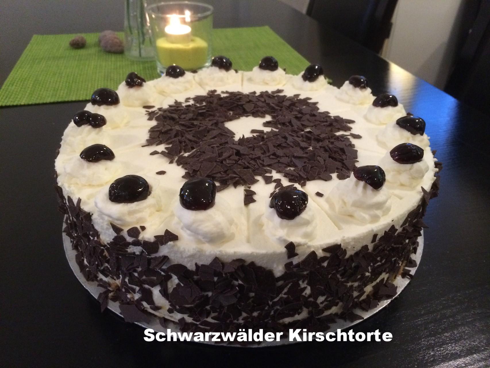 Rathaus Cafe Usingen Hessen/Schwarzwälder Kirsch Torte