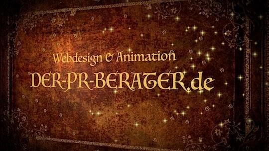 """Die PR, Medien und Marketing Agentur """"DER-PR-BERATER.de"""" Usingen hat mit Freude das Webdesign und die Animationen für diese Website erstellt."""