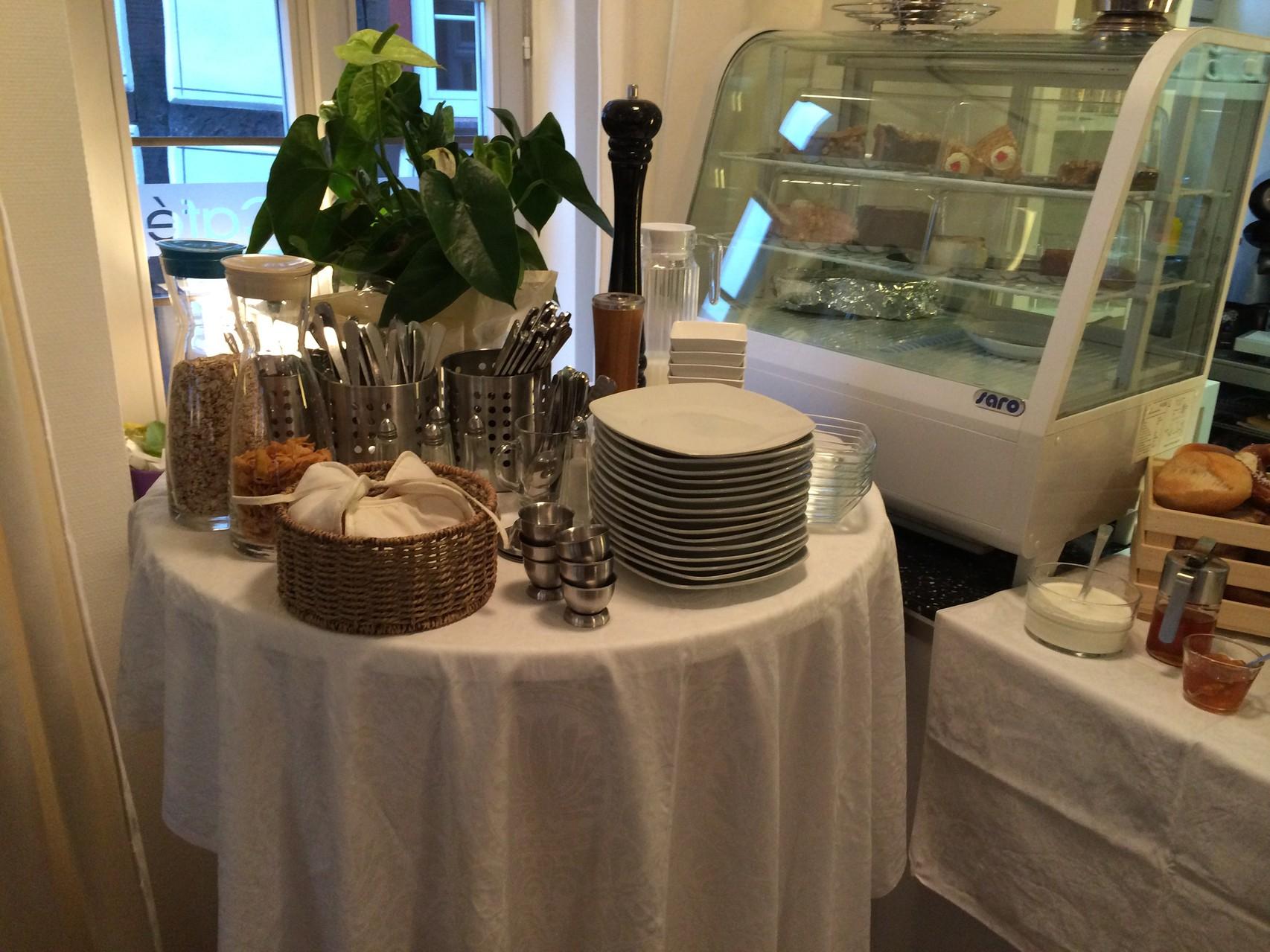 Rathaus Cafe Usingen, Frühstück