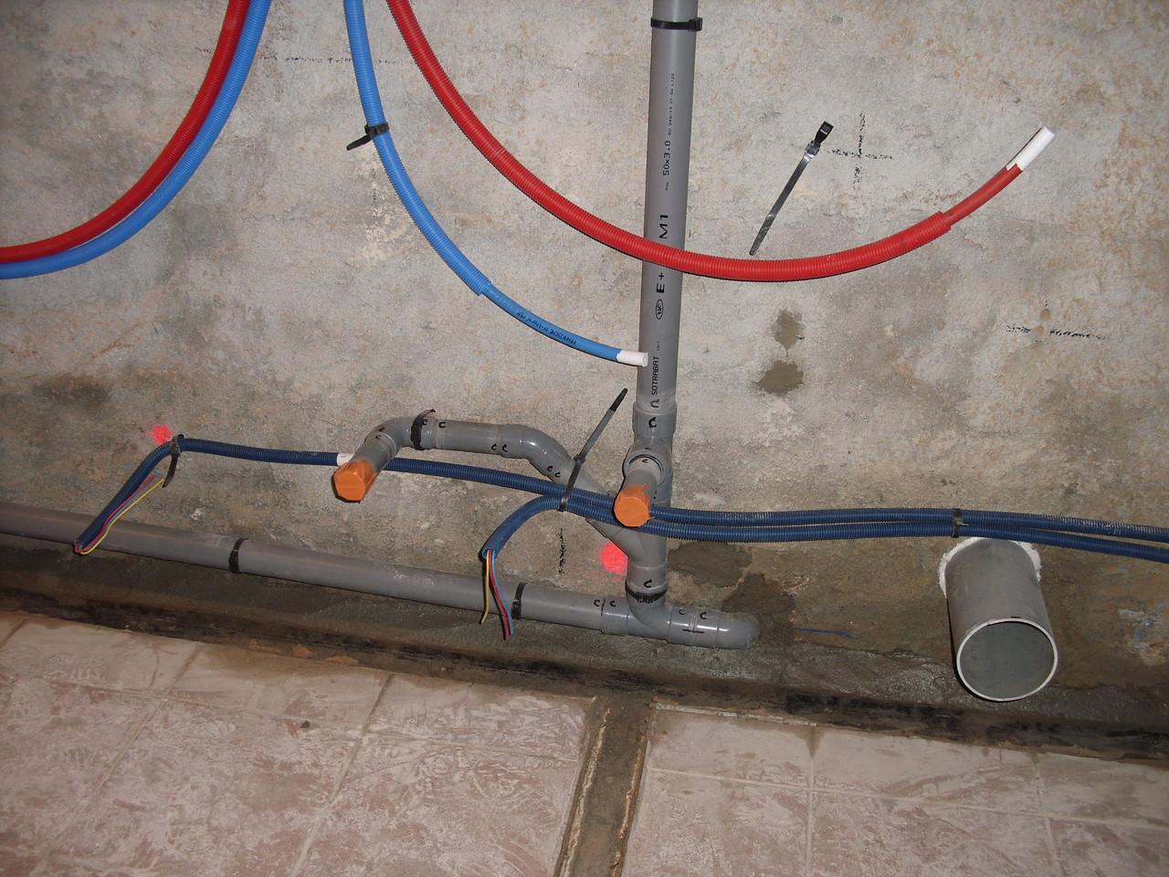 Plomberie et électricité ...