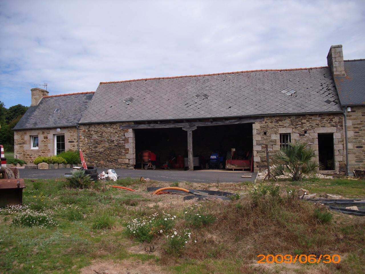 Le bâtiment ... en 2009 ...