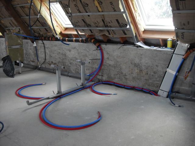 Plomberie, électricité, ventilation double flux et isolation ...