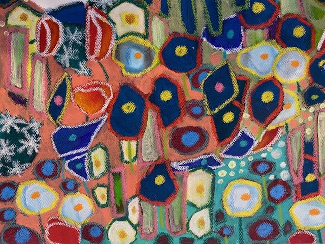 Claude Monet und die Blumen