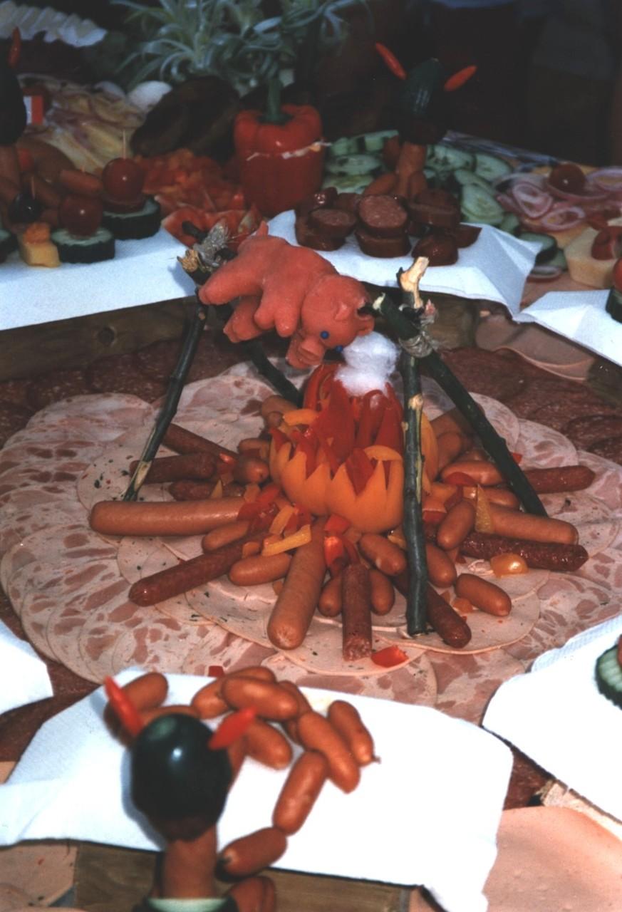1996 - Schweinchen vom Lagerfeuer