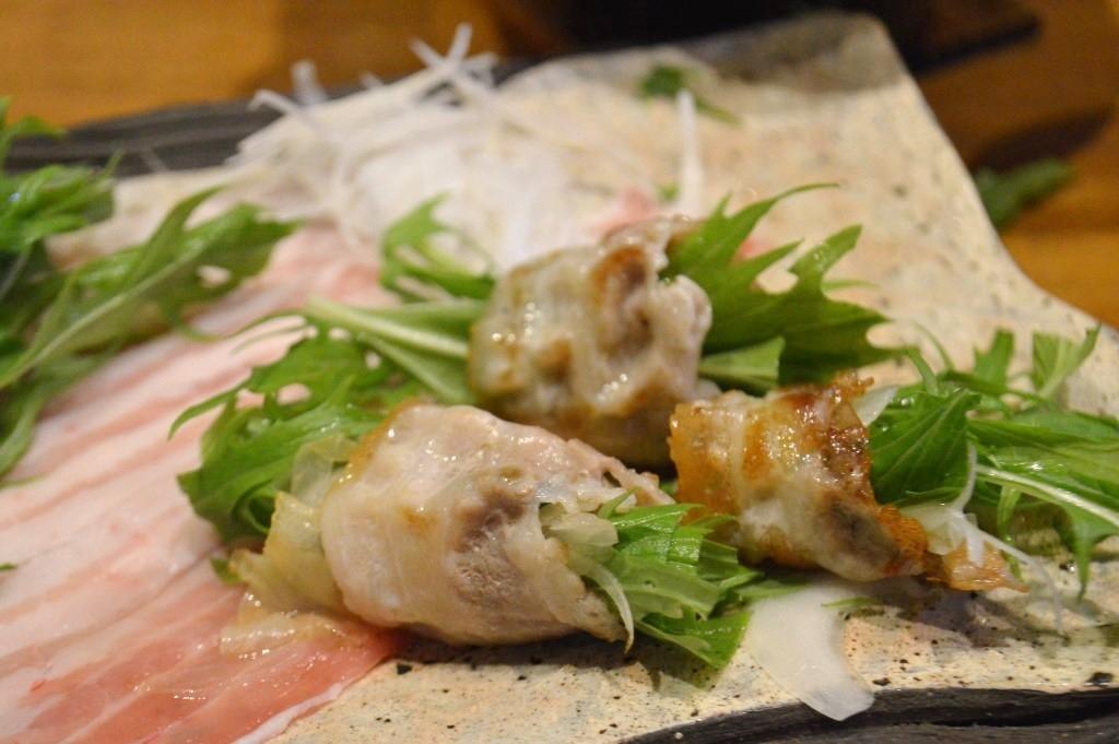 神戸ポーク野菜巻き