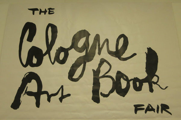 01. - 03.09.2017 / TheCologneArtBookFair