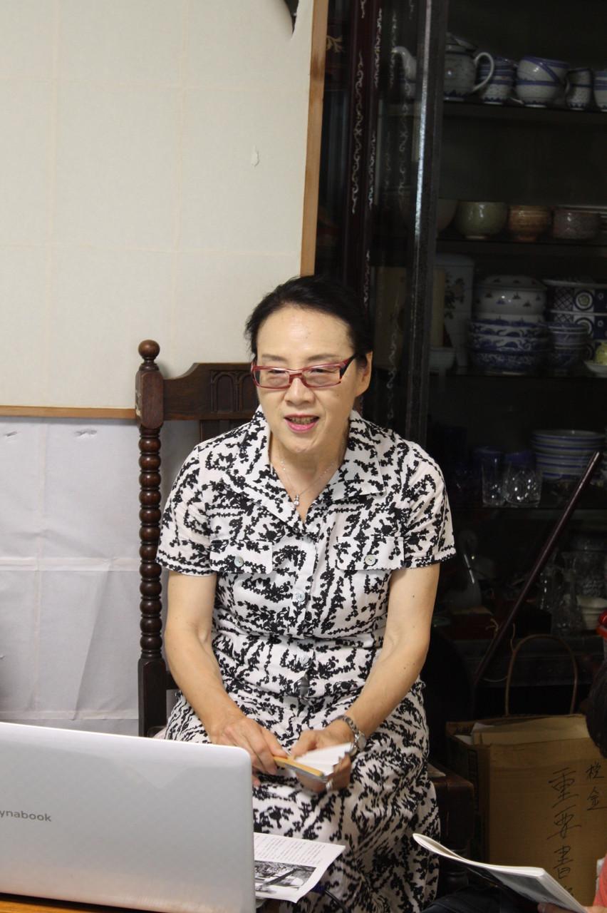 講師の伊中悦子さん