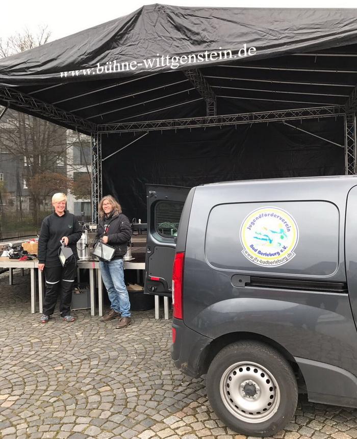 Sandra Janson und Matthias Schneider bilden ab dem 01.06. das neue hauptamtliche Duo der Jugendförderverein Bad Berleburg Veranstaltungs-GmbH, die nun alles rund um Veranstaltungen aus einer Hand anbietet.