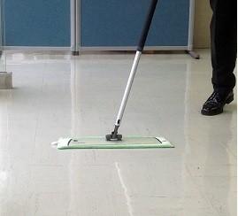床の掃除方法 (病院・施設向け)