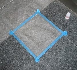 御影石の簡単シミ抜き掃除方法